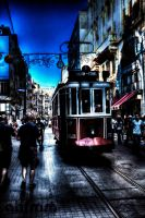 Istiklal Street in IstanbuL by ahfmm