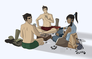 Legend of Korra - Cheat? I'd NEVER Cheat! by lledra
