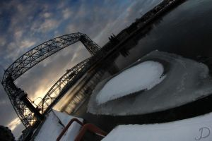 Ice Under the Bridge by hull612