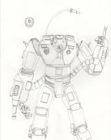 Advanced Heavy Combat Form by Imperator-Zor