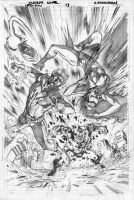 Legion 13 cover pencils by Cinar