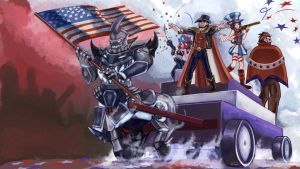 Independence Day LoL contest by xiaa