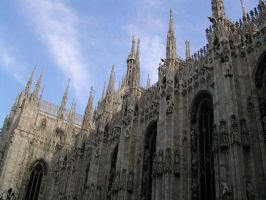 Milano Cathedral III by Ivette-Stock
