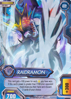 Digimon Fusion CCG FAN CARD - 001 RAIDRAMON by veemon-tamer