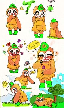 LEIF ::Animal Crossing:: by Bippie