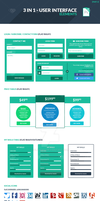 3 in 1 User Interface Elements Kit (Part 2) by slayerD1