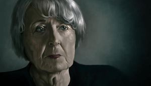 Doodle 232 - Old lady by giovannag
