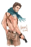 Uncharted: Nathan Drake by xanseviera