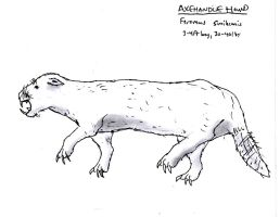 Primeval Concept: Axehandle Hound by RajaHarimau98