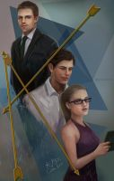 Arrow Season 3 by Asterisks