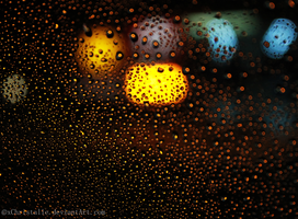 Rainy Night in the City by xChristalle
