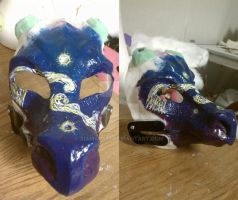 Starry night dragon WIP (apprentice project) by xiamara13