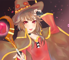 Megumin by LBAON