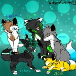 main OCs i rp with by wolvesforever122