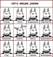 Card of emotions by BullTerrierKa