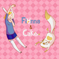 Fionna and Cake by Chrysolith