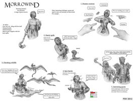Morrowind: Featuring Josianna the sorceress by DeepWoodian