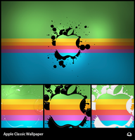 Apple Classic Wallpaper by Thvg