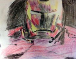 Iron Man Drawing by Astralview