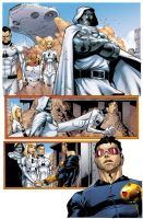 X-men 27 Page 4 Color Sample by Graconius