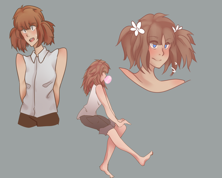 Kate sketches by Enzerufishu