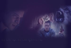 :.We can try. We can always try.: Teen Wolf Wall by me969