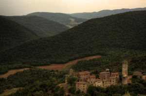 The Borgo and the Mountains by Telestic