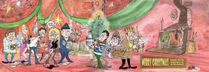 Christmas Codswallop by Granitoons