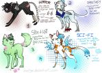 'Genre' Cats - Cheapish Adoptables [CLOSED] by aseliger