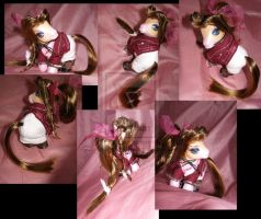 FF7 Aeris by customlpvalley