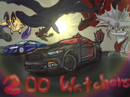 200 Watchers Special by allisonneal