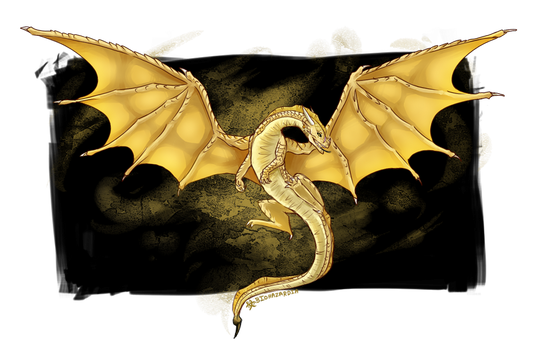 Wings of Fire - Qibli by Nocturnax
