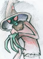 Scarecrow by Alhna
