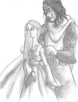 The Little Bird and The Hound by TottieWoodstock