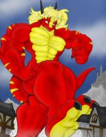 Dragonfireny's Rampage - 2-5 by notveryathletic