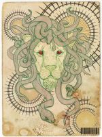 Lion Dusa by Jusaetice