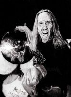 IRON MAIDEN - Nicko McBrain by Red-Szajn