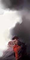Sterek: Don't run, little red by xieyuu