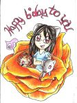 happy birthday to TCHINYGIRL125WIIMII and Holy-Gre by sheezy93