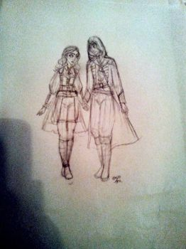 Elise and Arno by MaedhrosMignonette