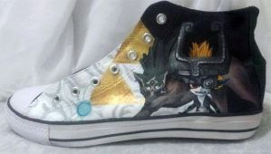 Legend of Zelda shoe by GamerGirl84244