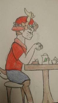 Coffee Break! (Requested by Poodle54306) by zthegamer