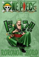 One piece 599 Zoro by Natalya-Ru
