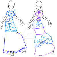 Winx Ball Gown Adoptables by Natalia-Enchantix
