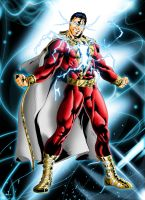 New 52  Shazam by JeanSinclairArts