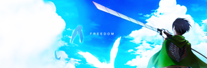 Cover ZingMe Levi: FREEDOM by Aoi-KAWAII