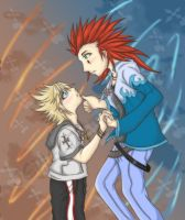 AkuRoku--Don't Wake Me by Twilight-Deviant