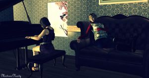 Eileen and Heather by MistressNasty