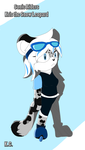Sonic Riders: Kris the Snow Leopard by MsLunarUmbreon