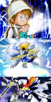 Angemon Warp Digivolve to... by Angemonx